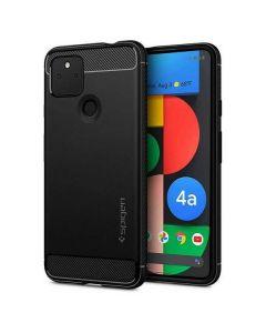Spigen Rugged Armor Google Pixel 4A 5G czarny/black ACS01885