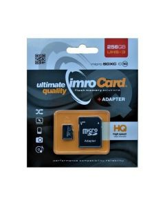 Karta pamięci microSDXC 256GB Imro+ adp 10C UHS-3