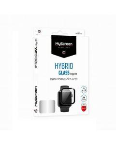 MS HybridGLASS Edge 3D Apple Watch 6 /Se 40mm czarny/black