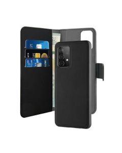 Puro Wallet Detachable Samsung A52 A525 2w1 czarne/black SGA52BOOKC3BLK