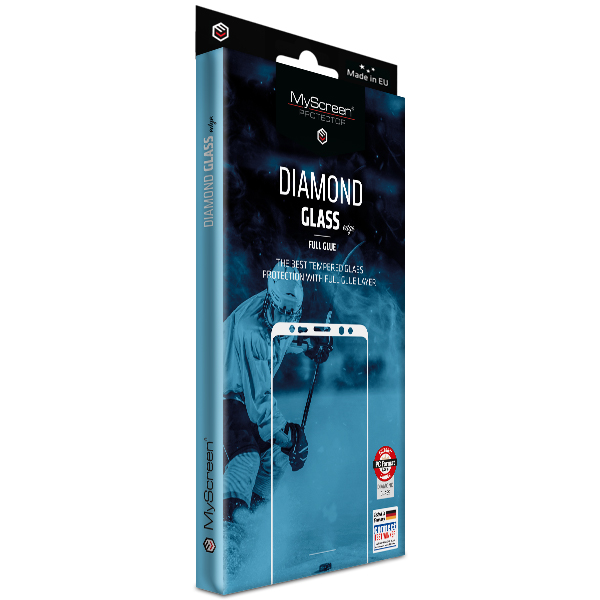 MS Diamond Edge FG Xiaomi Redmi Note 10 4G/Note 10s czarny/black Full Glue